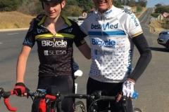 Euan and Callum at Badplaas