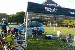TBC hospitality tent ready for riders Big 5