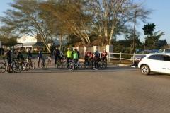 TBC jock training ride